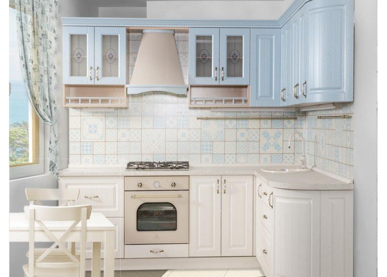 Кухня Кантри 2400х1920 мм
