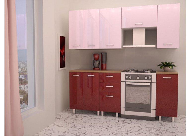 Кухня Модерн Гранат 1950 мм
