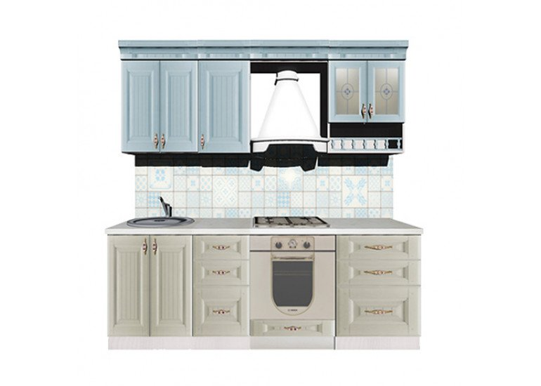 Кухня Кантри 2200 мм