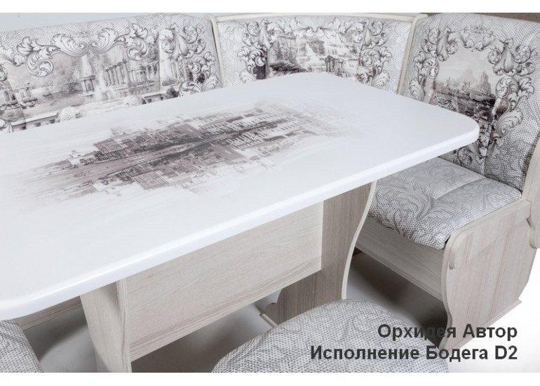 Кухонный уголок Орхидея Автор Бодега D2