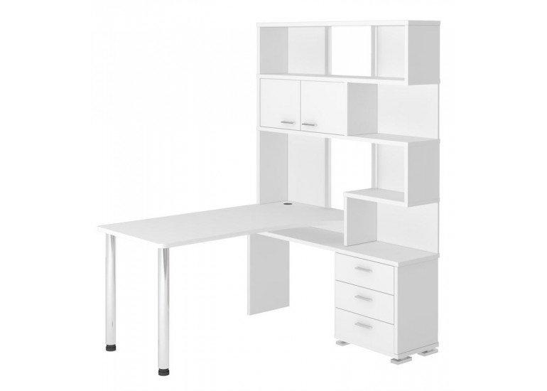 Стол компьютерный Белый СР-420/150 БЕ-ПРАВ
