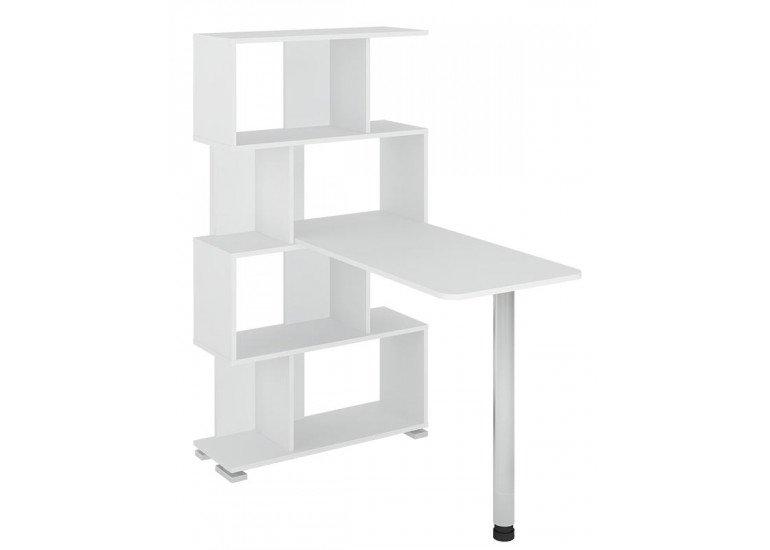 Стол компьютерный Белый СЛ-5-4СТ БЕ