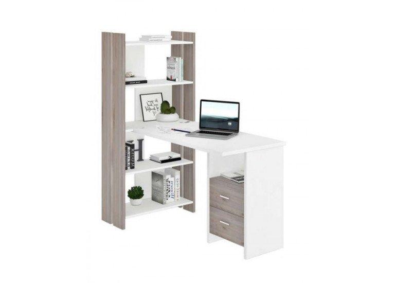 Стол компьютерный Венге/Карамель СТЛ-ОВ+С120РПрям ВК