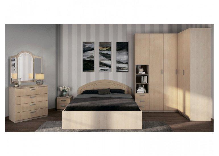 Спальня Лотос (клен глянец)